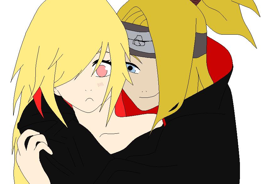 Kari and Deidara